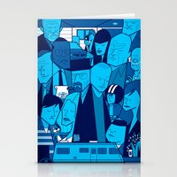 Breaking Bad (blue version) Stationery Cards