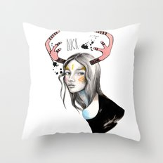 Buck (isolated) Throw Pillow