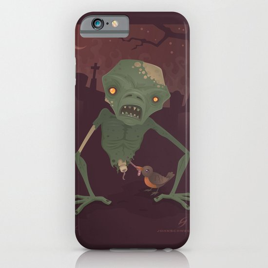 Sickly Zombie iPhone & iPod Case