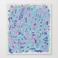 Emetophobia! (Chapter 1) Canvas Print