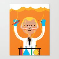 Science is Fun Canvas Print