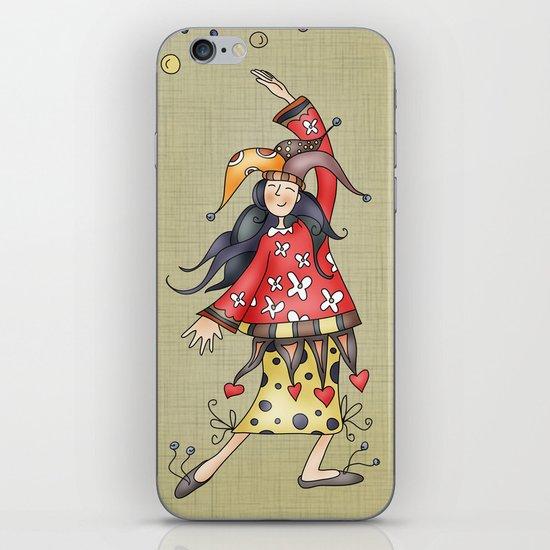 Lady Jokers iPhone & iPod Skin
