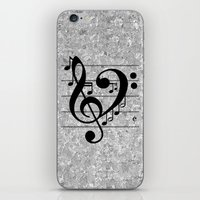 Love Music iPhone & iPod Skin