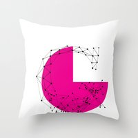 G (abstract Geometrical … Throw Pillow
