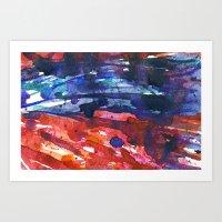 Aquarella Art Print