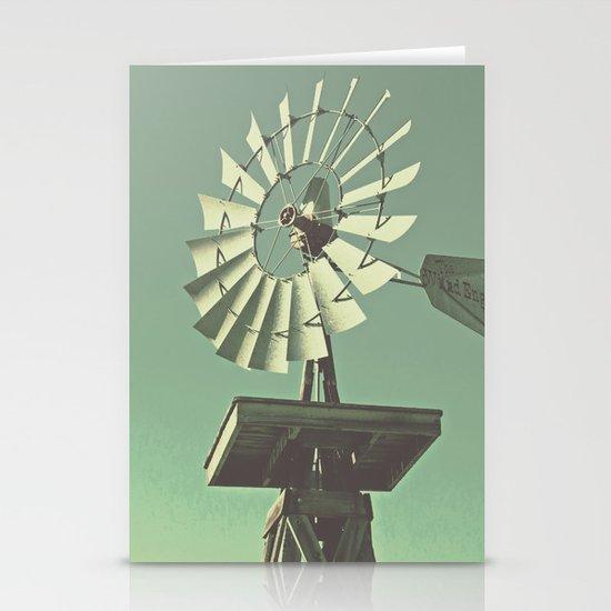 Windmill Stationery Card