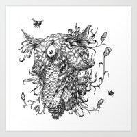 Cycle 1 Art Print
