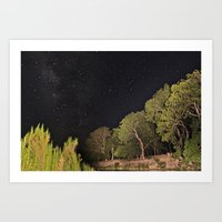 Milky Way and All Art Print