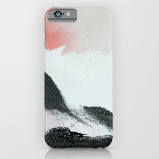 Morning's Snow iPhone & iPod Case