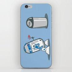 Robot Crush iPhone & iPod Skin