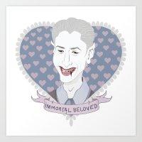 Immortal Beloved Art Print