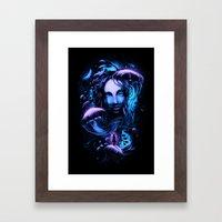 Ocean Of Secrets Framed Art Print