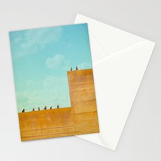 Birds on a Wall Stationery Cards