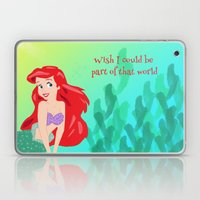 PART OF THAT WORLD  Laptop & iPad Skin