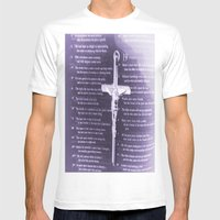 The Word Mens Fitted Tee White SMALL