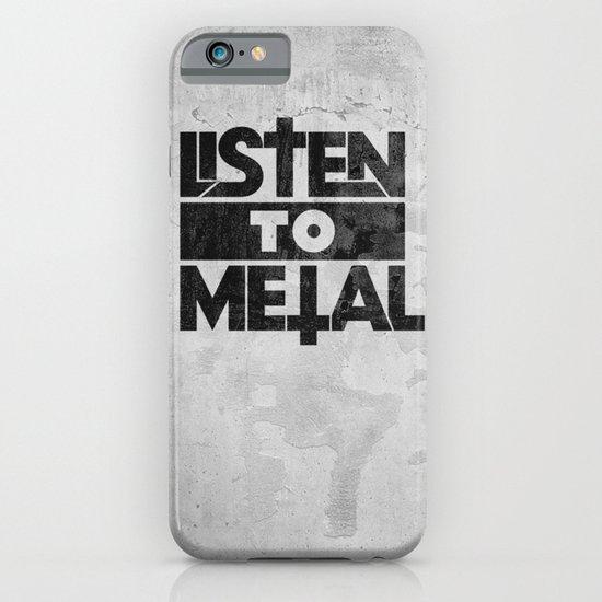 Listen to Metal iPhone & iPod Case