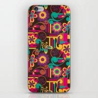 Arabesque Floral iPhone & iPod Skin