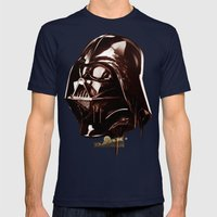 Dark Chocolate Mens Fitted Tee Navy SMALL