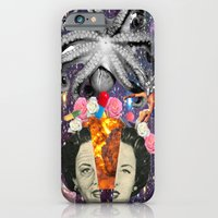 iPhone Cases featuring feed your brain by moor