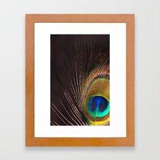 Silken Iridescence Framed Art Print