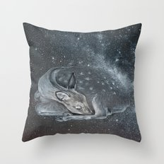 The Deer Spirit Throw Pillow
