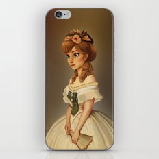 Anna of Arendelle Royal Painting iPhone & iPod Skin