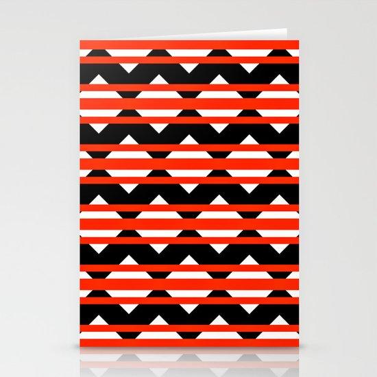 Vreugdehil Black & Red Stationery Card