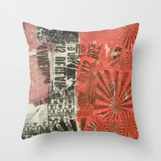 COLLAGE 2 Throw Pillow