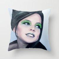 Little Diva Throw Pillow