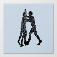 Molecule Man Canvas Print