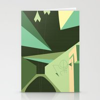 Stationery Card featuring Maneuver by Robert Cooper