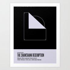 Shawshank Redemption Art Print