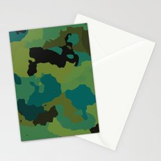 Colorful Camo Stationery Cards