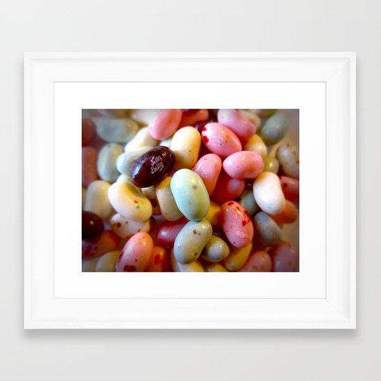 Jelly Beans Framed Art Print
