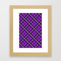 Scottish Plaid (Tartan) … Framed Art Print