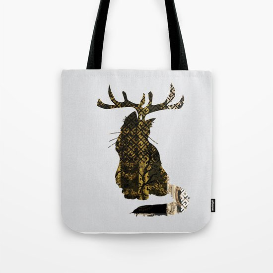 FabCreature · CaTee Tote Bag