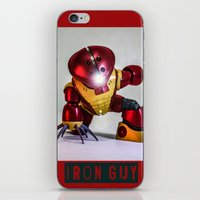 iron guy iPhone & iPod Skin