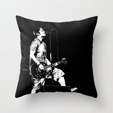 T. S. B/W Throw Pillow