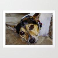 Terrier Art Print