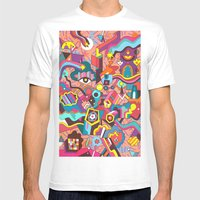 Schema 18 Mens Fitted Tee White SMALL