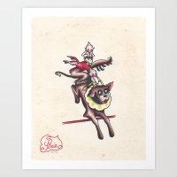 Kewpie Circus Art Print