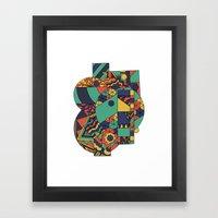Geomets Framed Art Print