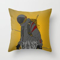 Under Pressure Throw Pillow