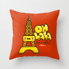 Oh lala! Throw Pillow