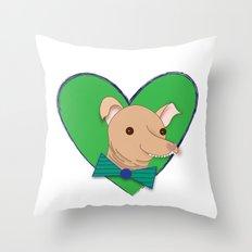 Little Tuna Throw Pillow