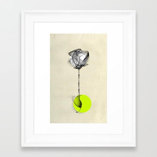 Green Monday Framed Art Print