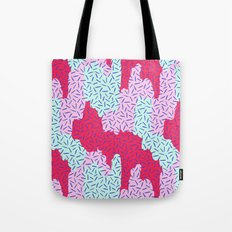 Candy Camouflage Tote Bag