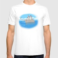 The Elefante Mens Fitted Tee White SMALL