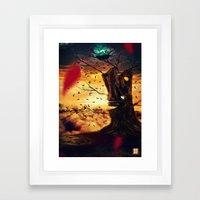 The Last Autumn Framed Art Print