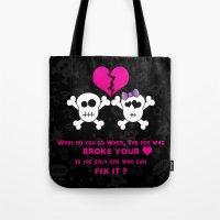 Broken Heart! Tote Bag